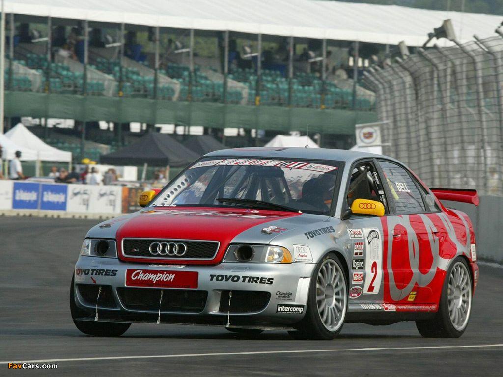 Audi S4 Competition Scca World Challenge B5 8d 2000 02