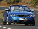 Audi S4 Cabrio (B6,8H) 2002–05 images