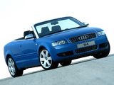 Audi S4 Cabrio ZA-spec (B6,8H) 2002–05 photos