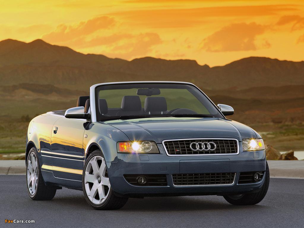 Audi S4 Cabrio US-spec (B6,8H) 2002–05 photos (1024 x 768)
