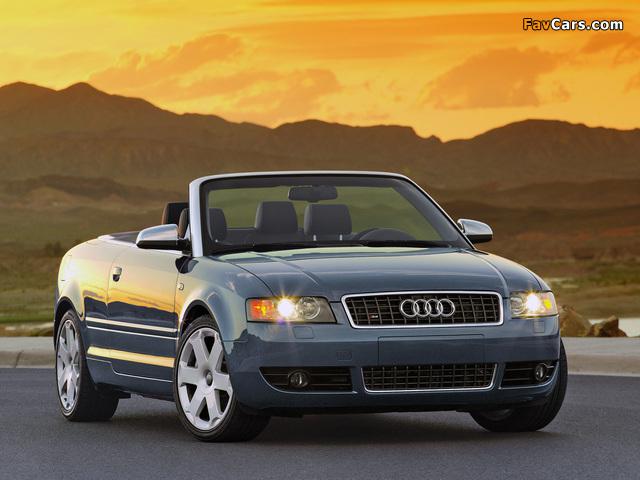 Audi S4 Cabrio US-spec (B6,8H) 2002–05 photos (640 x 480)
