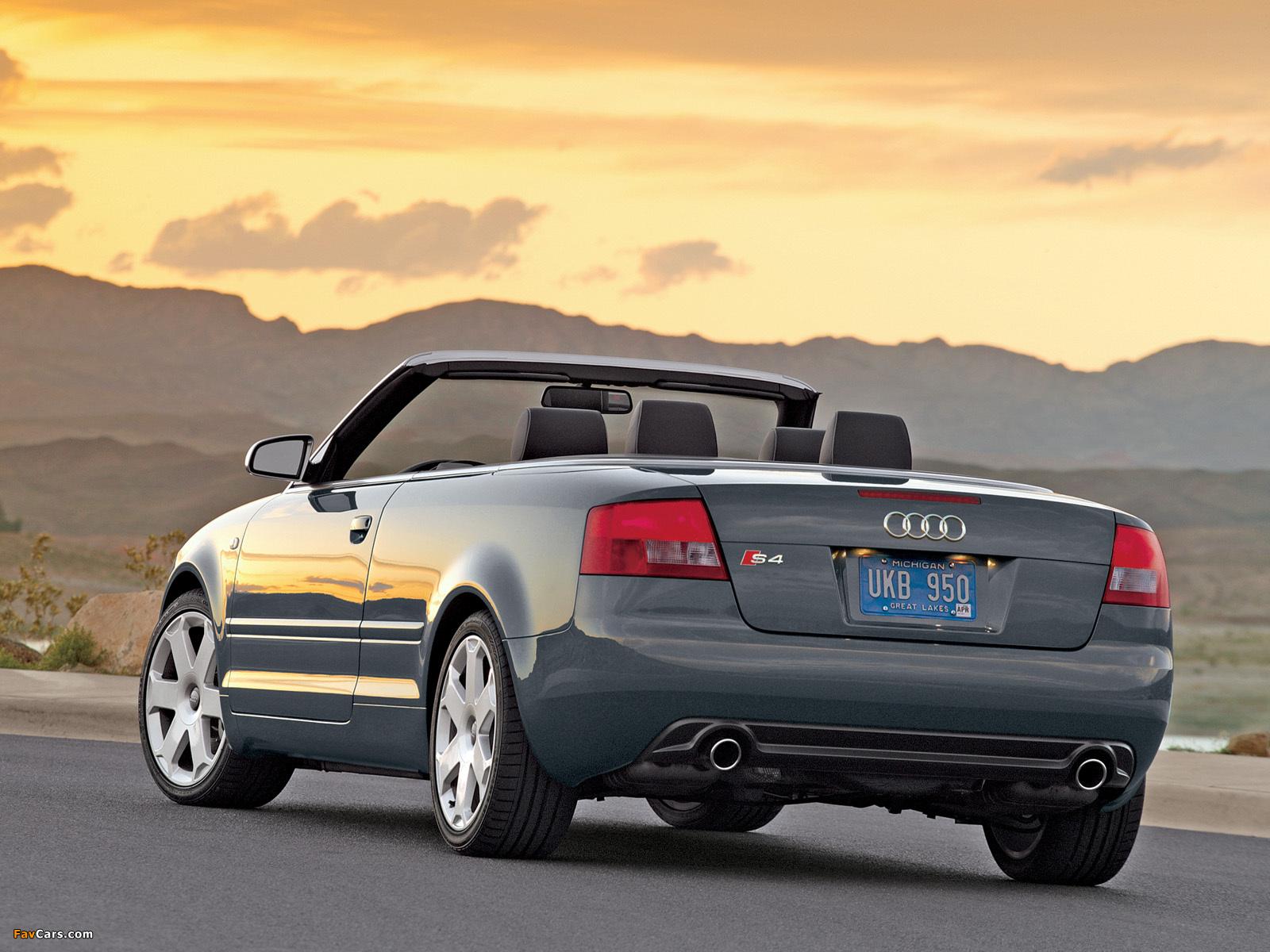 Audi S4 Cabrio US-spec (B6,8H) 2002–05 photos (1600 x 1200)