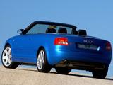Audi S4 Cabrio ZA-spec (B6,8H) 2002–05 pictures