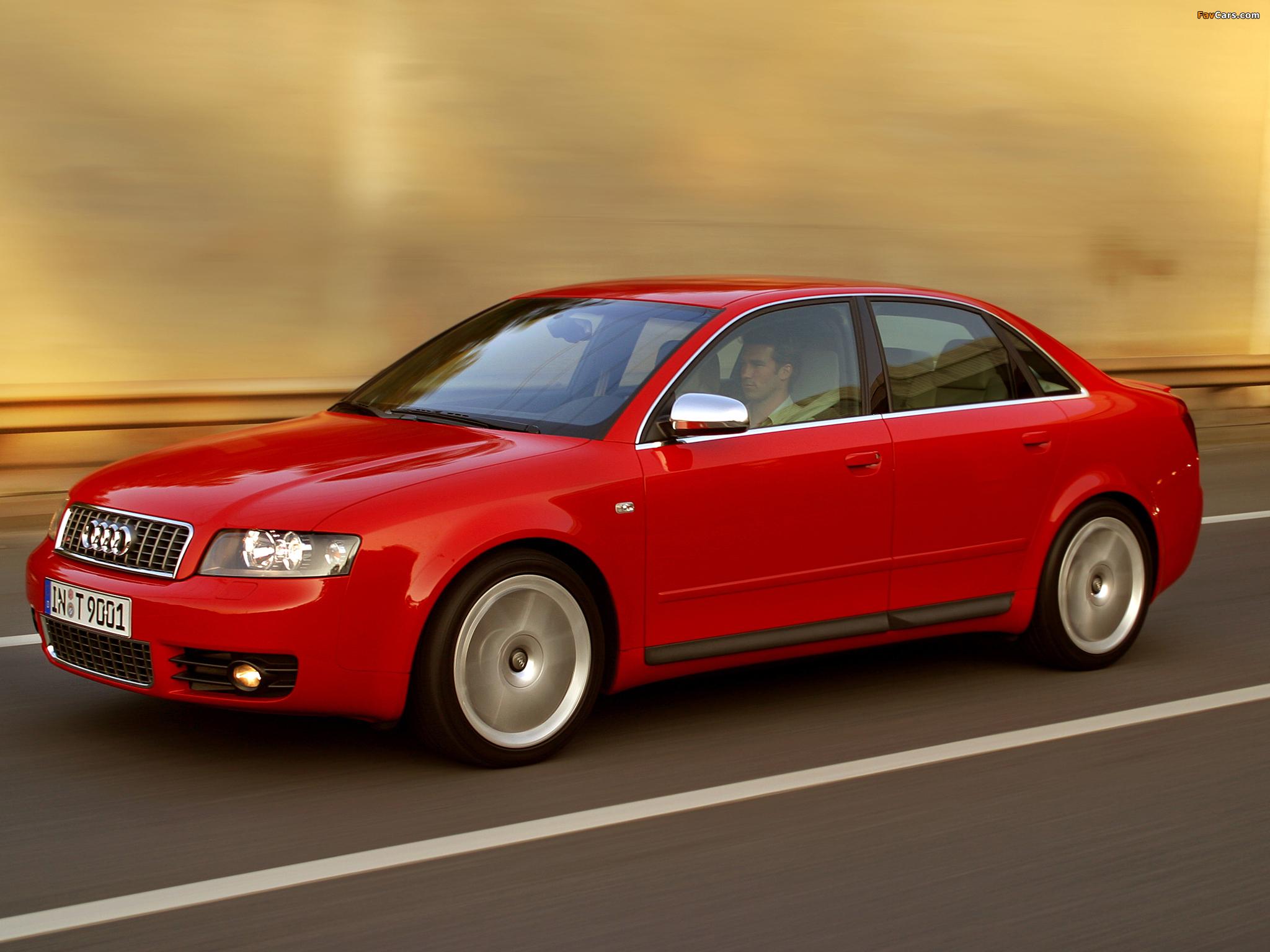 Audi S4 Sedan (B6,8E) 2003–05 images (2048 x 1536)