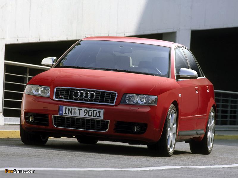 Audi S4 Sedan (B6,8E) 2003–05 images (800 x 600)