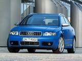 Audi S4 Avant (B6,8E) 2003–05 photos