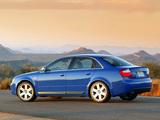 Audi S4 Sedan US-spec (B6,8E) 2003–05 pictures