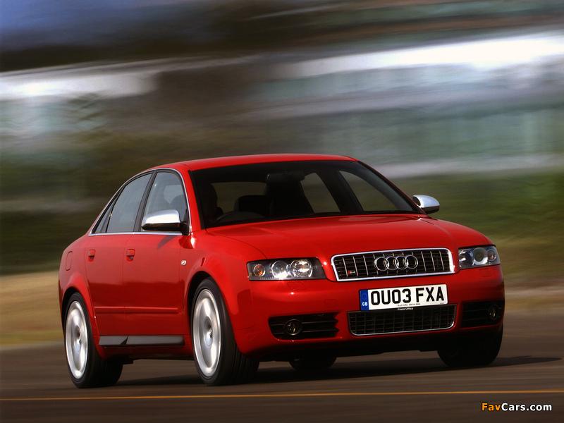 Audi S4 Sedan (B6,8E) 2003–05 wallpapers (800 x 600)