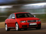 Audi S4 Sedan (B6,8E) 2003–05 wallpapers