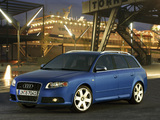 Audi S4 Avant (B7,8E) 2005–08 images