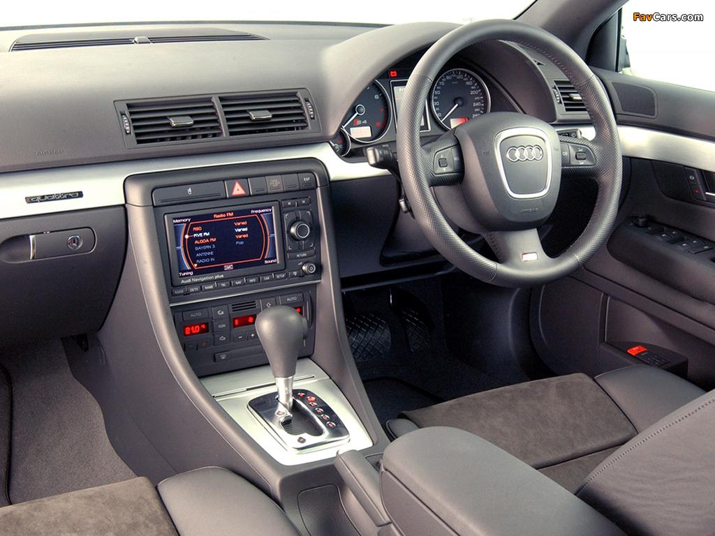 Audi S4 Avant ZA-spec (B7,8E) 2005–08 images (1024 x 768)