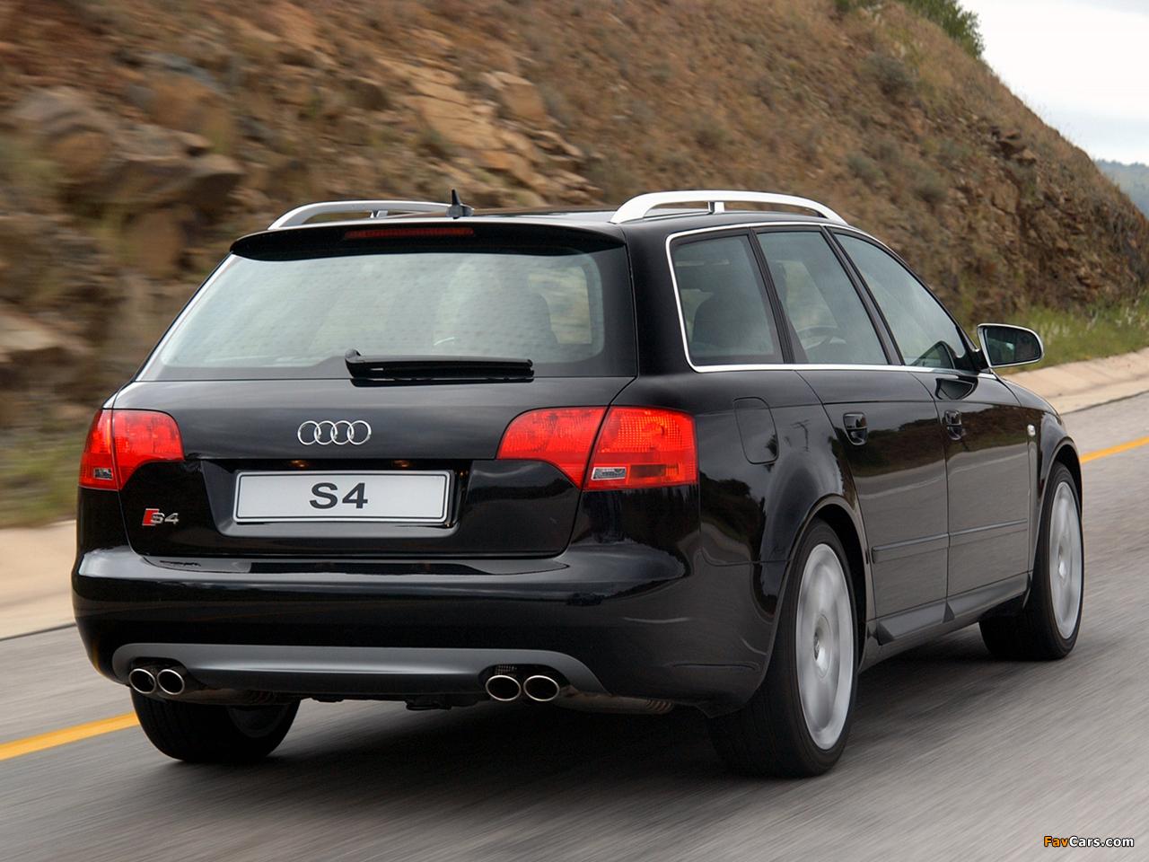 Audi S4 Avant ZA-spec (B7,8E) 2005–08 photos (1280 x 960)
