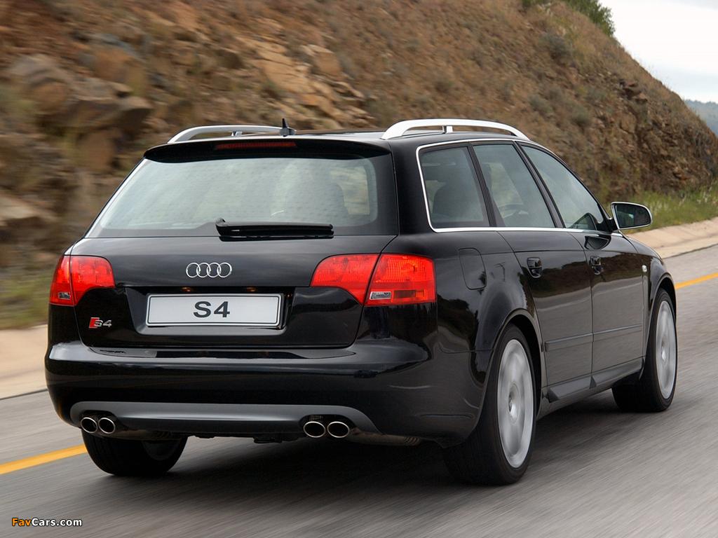 Audi S4 Avant Za Spec B7 8e 2005 08 Photos 1024x768