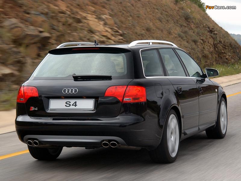 Audi S4 Avant ZA-spec (B7,8E) 2005–08 photos (800 x 600)