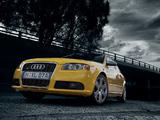 Audi S4 Sedan (B7,8E) 2005–07 pictures