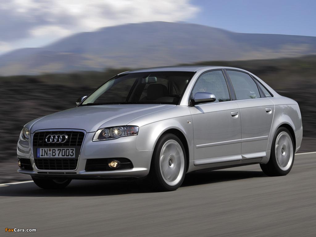 Audi S4 Sedan B7 8e 2005 07 Pictures 1024x768