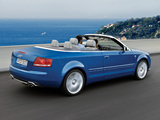 Audi S4 Cabriolet (B7,8H) 2007–08 images