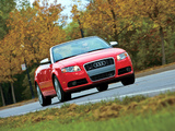 Audi S4 Cabriolet US-spec (B7,8H) 2007–08 wallpapers