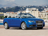 Audi S4 Cabriolet (B7,8H) 2007–08 wallpapers