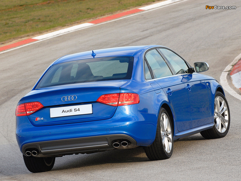 Audi S4 Sedan ZA-spec (B8,8K) 2009 images (800 x 600)