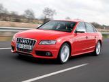 Audi S4 Sedan (B8,8K) 2009–11 images