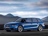 Audi S4 Avant (B8,8K) 2009–11 photos