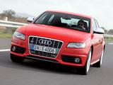Audi S4 Sedan (B8,8K) 2009–11 photos