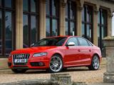 Audi S4 Sedan UK-spec (B8,8K) 2009 pictures