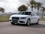 Audi S4 Sedan (B8,8K) 2009–11 pictures