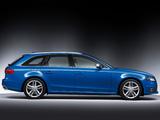 Audi S4 Avant (B8,8K) 2009–11 wallpapers