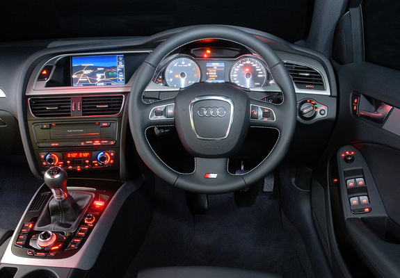 Audi S4 Sedan Za Spec B88k 2009 Wallpapers
