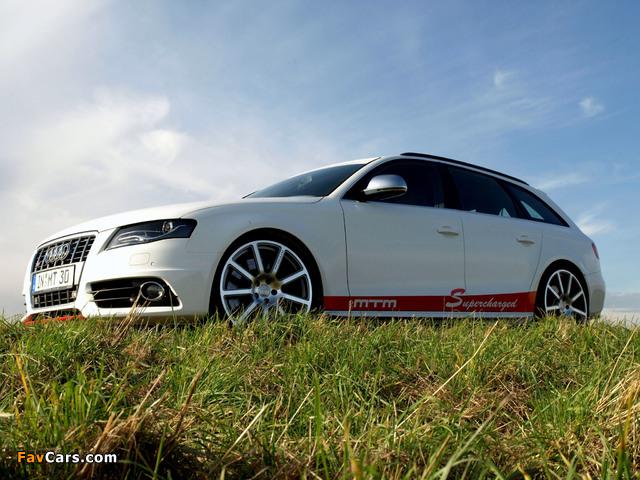 MTM Audi S4 Avant (B8,8K) 2009 wallpapers (640 x 480)