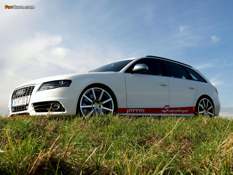 MTM Audi S4 Avant (B8,8K) 2009 wallpapers (800 x 600)
