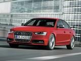 Audi S4 Sedan (B8,8K) 2012 images