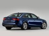 Audi S4 Sedan US-spec (B8,8K) 2012 images