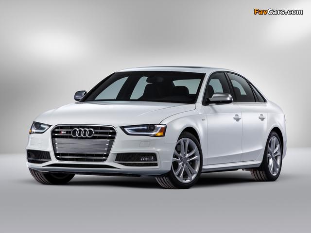 Audi S4 Sedan US-spec (B8,8K) 2012 images (640 x 480)