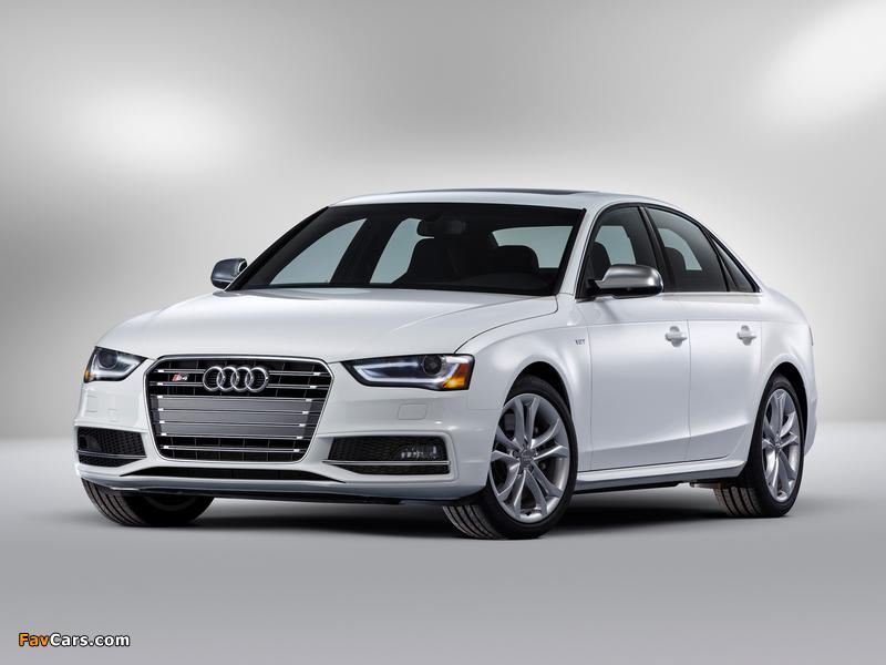 Audi S4 Sedan US-spec (B8,8K) 2012 images (800 x 600)