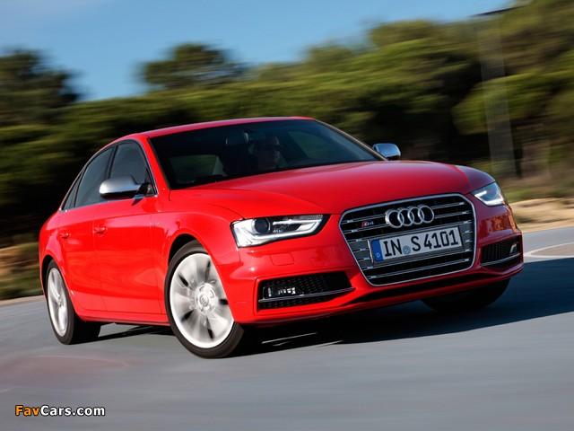 Audi S4 Sedan B8 8k 2012 Photos 640x480