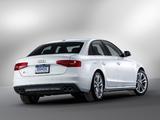 Audi S4 Sedan US-spec (B8,8K) 2012 pictures