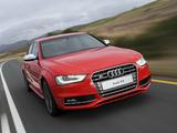 Audi S4 Sedan ZA-spec (B8,8K) 2012 pictures
