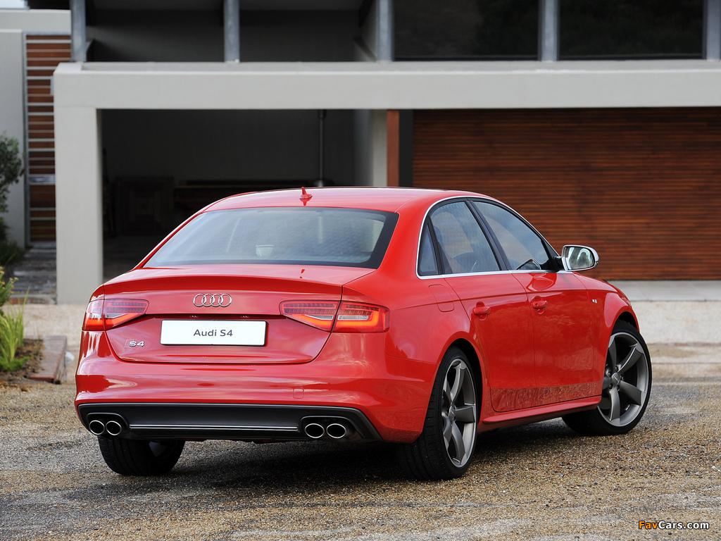 Audi S4 Sedan Za Spec B8 8k 2012 Wallpapers 1024x768