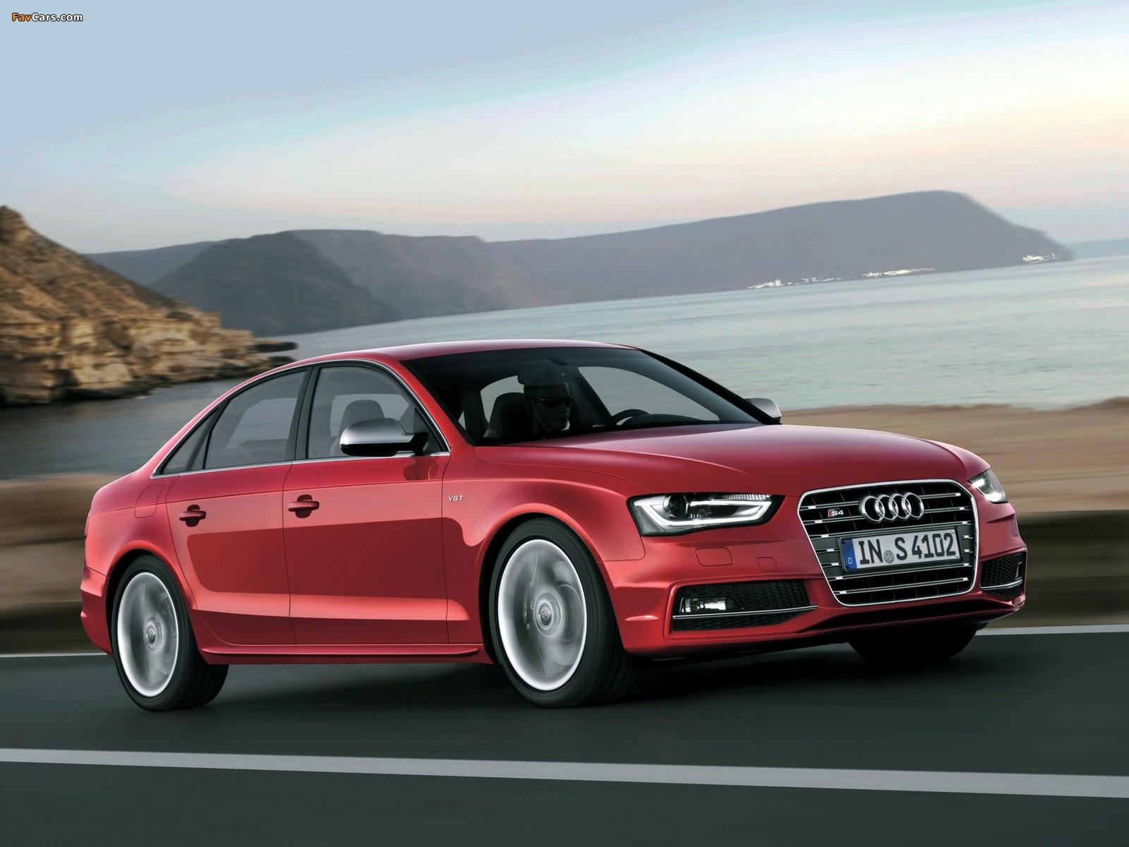 Audi S4 Sedan B8 8k 2012 Wallpapers 1600x1200