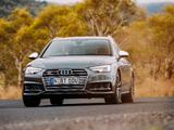 Audi S4 Avant AU-spec (B9) 2017 photos
