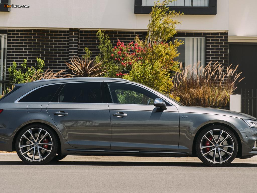 Audi S4 Avant AU-spec (B9) 2017 pictures (1024 x 768)