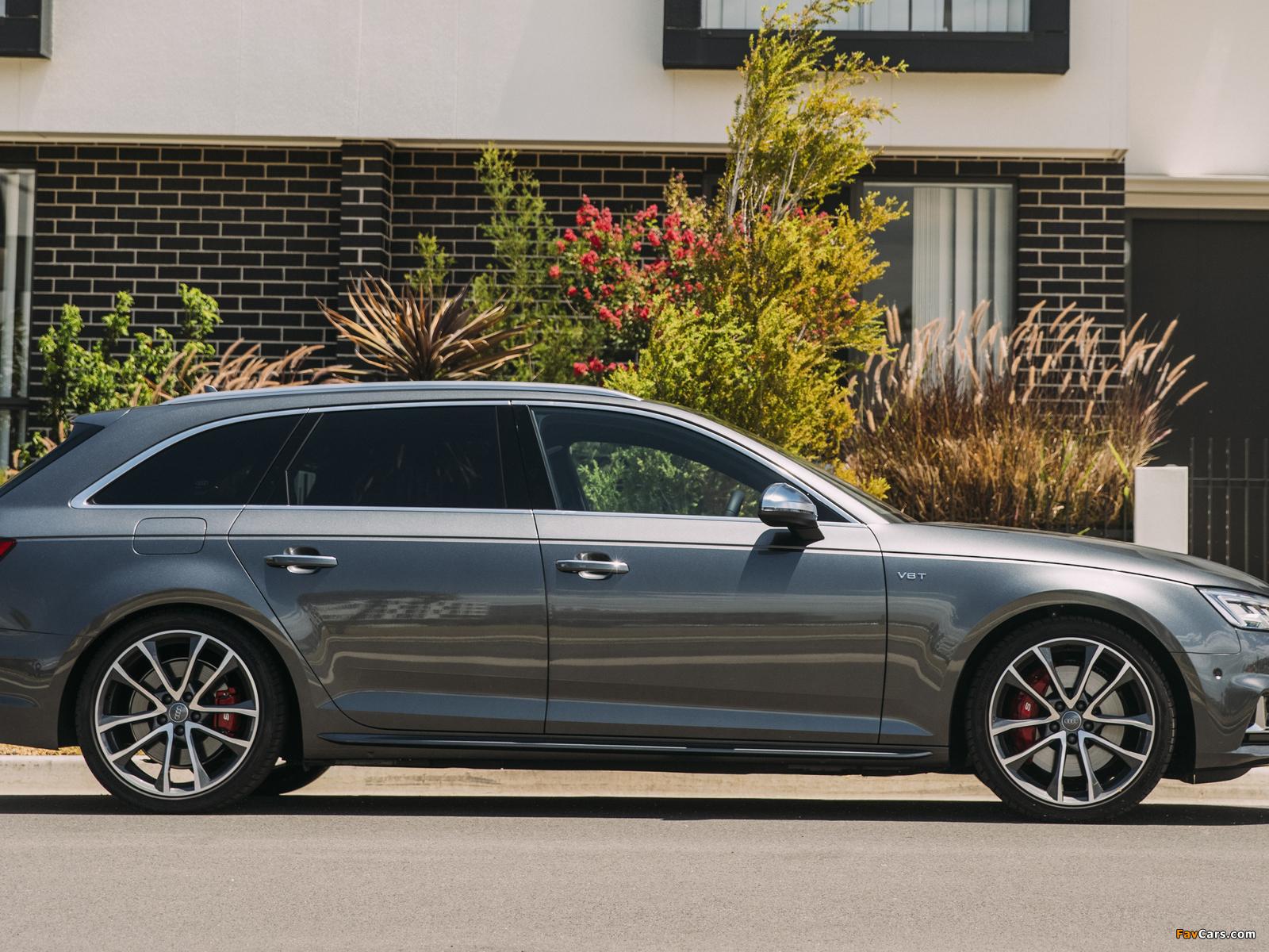Audi S4 Avant AU-spec (B9) 2017 pictures (1600 x 1200)