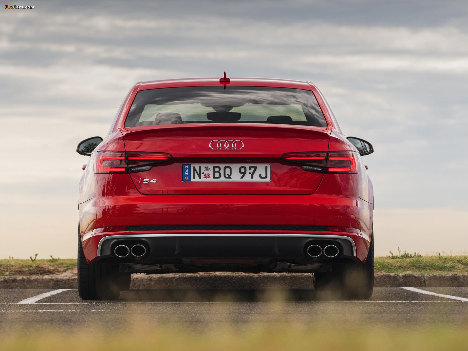 Audi S4 Sedan AU-spec (B9) 2017 wallpapers (1600 x 1200)