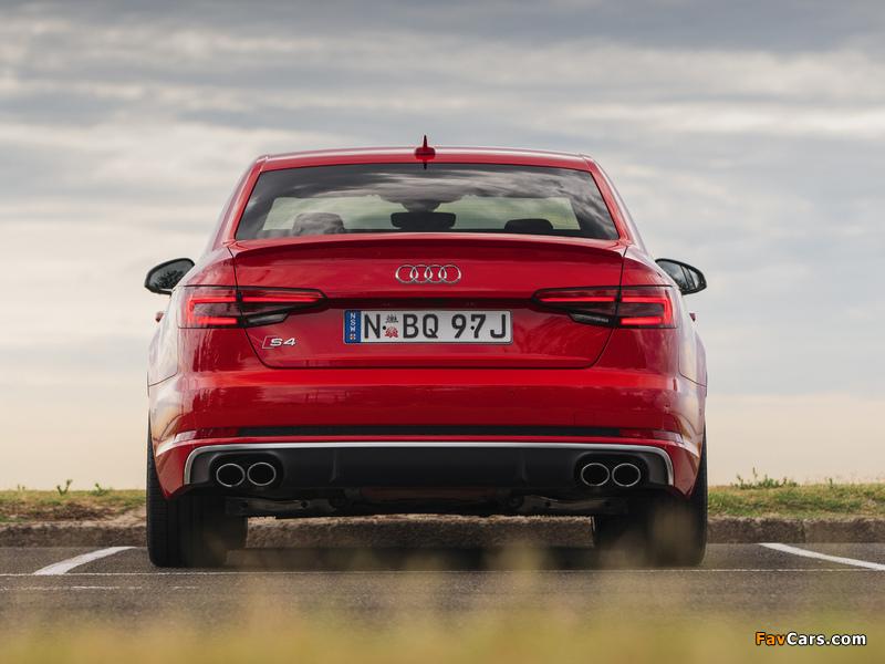 Audi S4 Sedan AU-spec (B9) 2017 wallpapers (800 x 600)