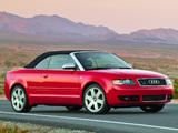 Images of Audi S4 Cabrio US-spec (B6,8H) 2002–05