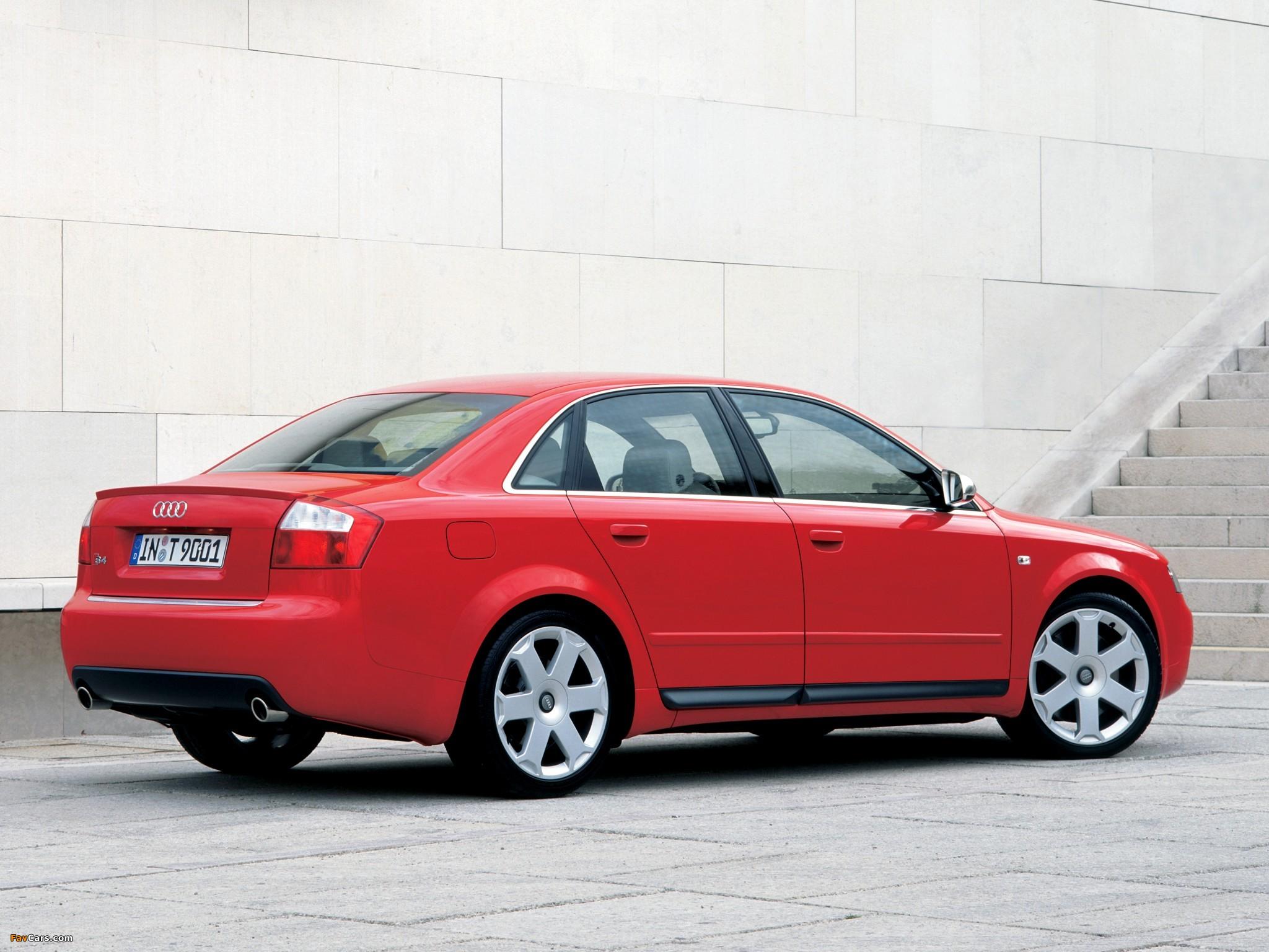 Images of Audi S4 Sedan (B6,8E) 2003–05 (2048 x 1536)