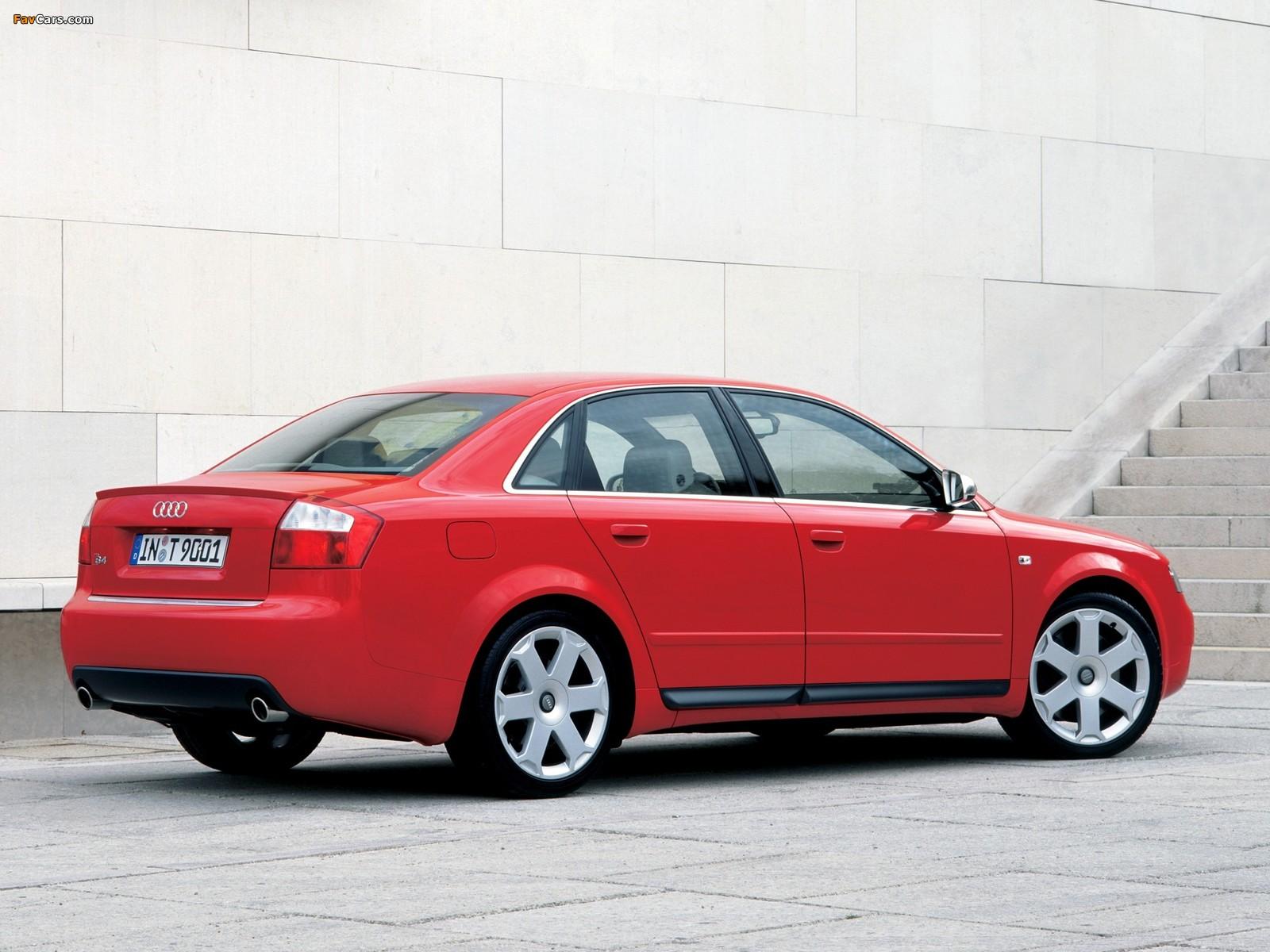 Images of Audi S4 Sedan (B6,8E) 2003–05 (1600 x 1200)